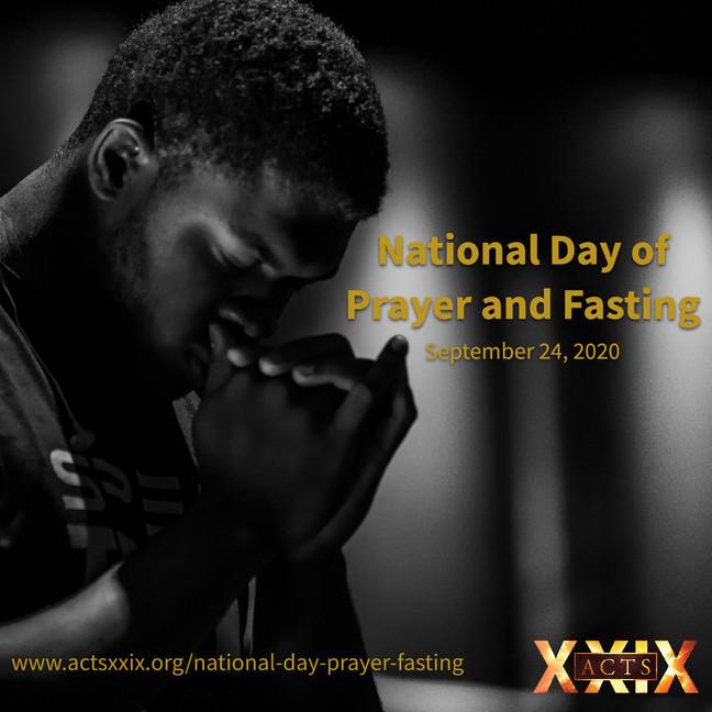 Day of Prayer & Fasting