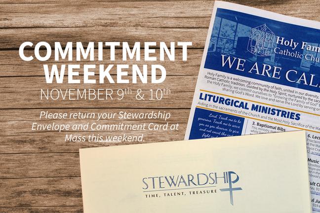 Commitment Weekend