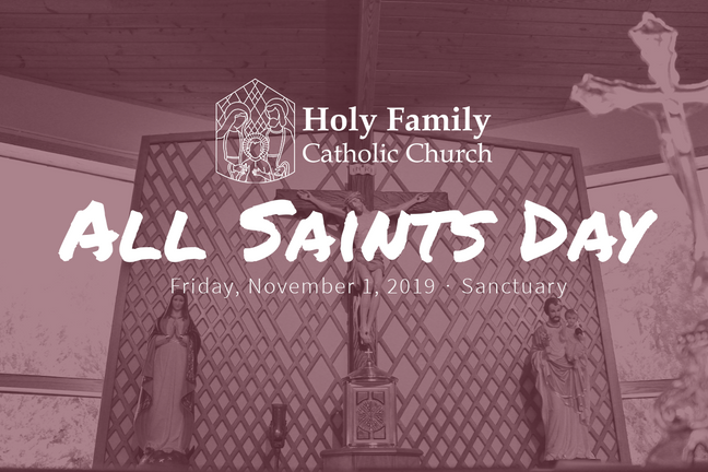 All Saints Day 2019