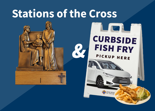 Stations of the Cross & Curbside Fish Fry 2021
