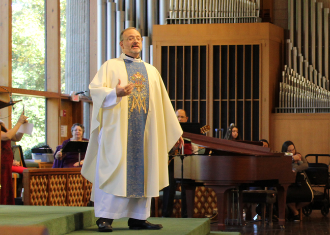 Fr. Miguel Grave de Peralta, Pastor, Biography