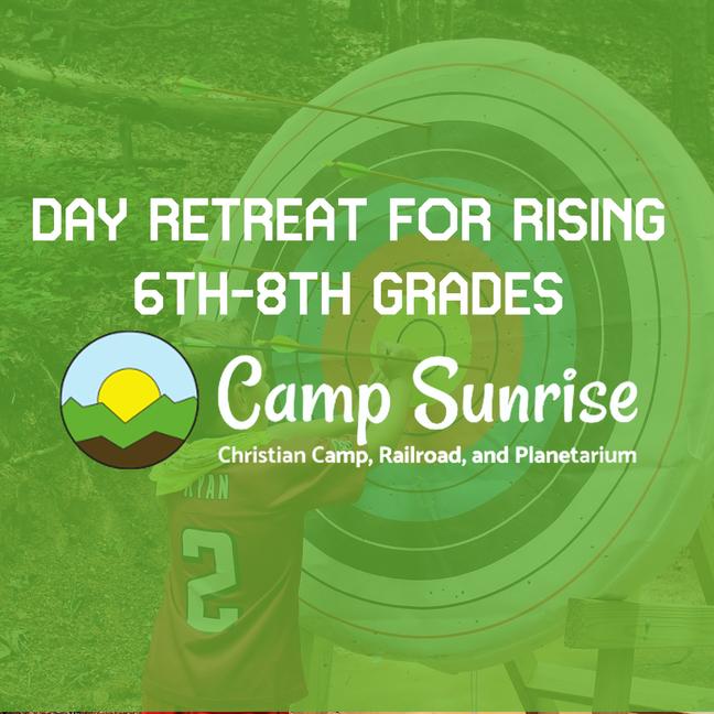 Camp Sunrise Day Retreat 2021