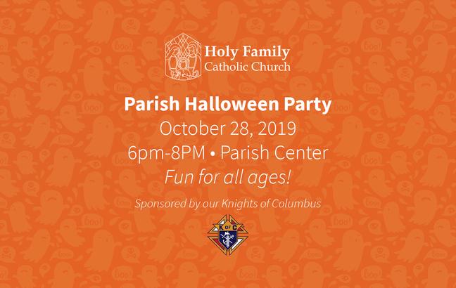 Parish Halloween Party