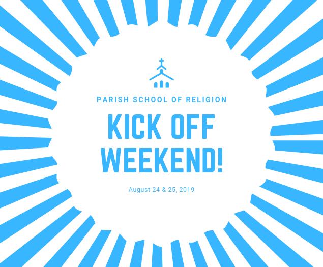 Faith Formation - Kick Off!