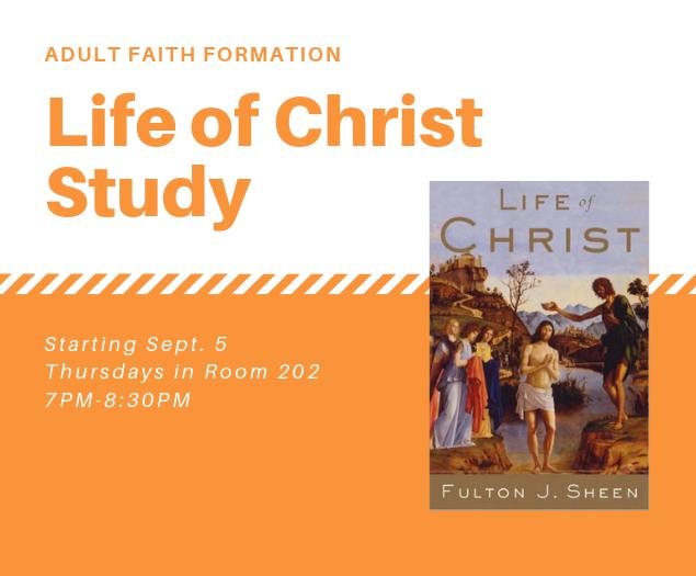 Life of Christ Study - Fall 2019