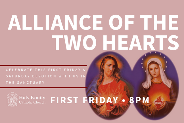 Two Hearts Alliance Vigil 2020