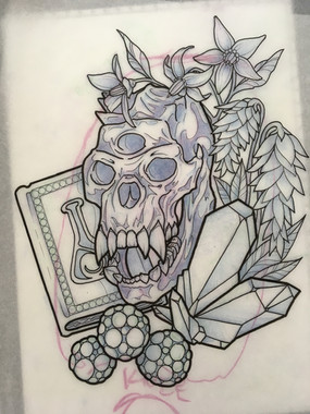 Skyrim Troll Skull