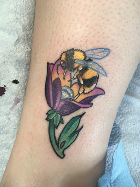 Bee and Flower (2019)
