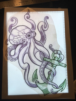 Anchor and Octopus