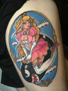 Mario Bros: Princess Peach Bomber Girl (2019)