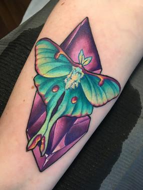 Luna Moth Crystal (2019)