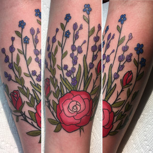 Rose and Lavender (2017)
