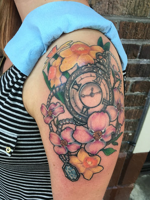 Flowers and Pocketwatch (2019)