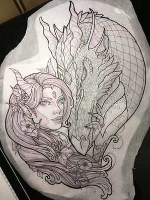 Dragon and Fae
