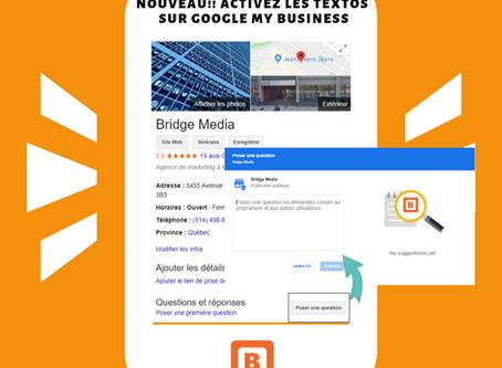 Google My Business : de nouvelles fonctionnalités pour votre entreprise