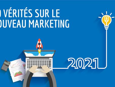 10 vérités sur le nouveau marketing en 2021