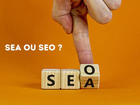 SEA ou SEO : comment faire pour s'y retrouver?