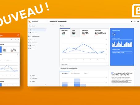 Nouvelle version de Google Analytics