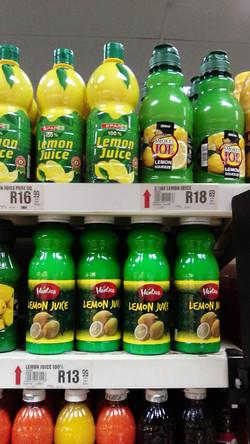 Lemon Juices