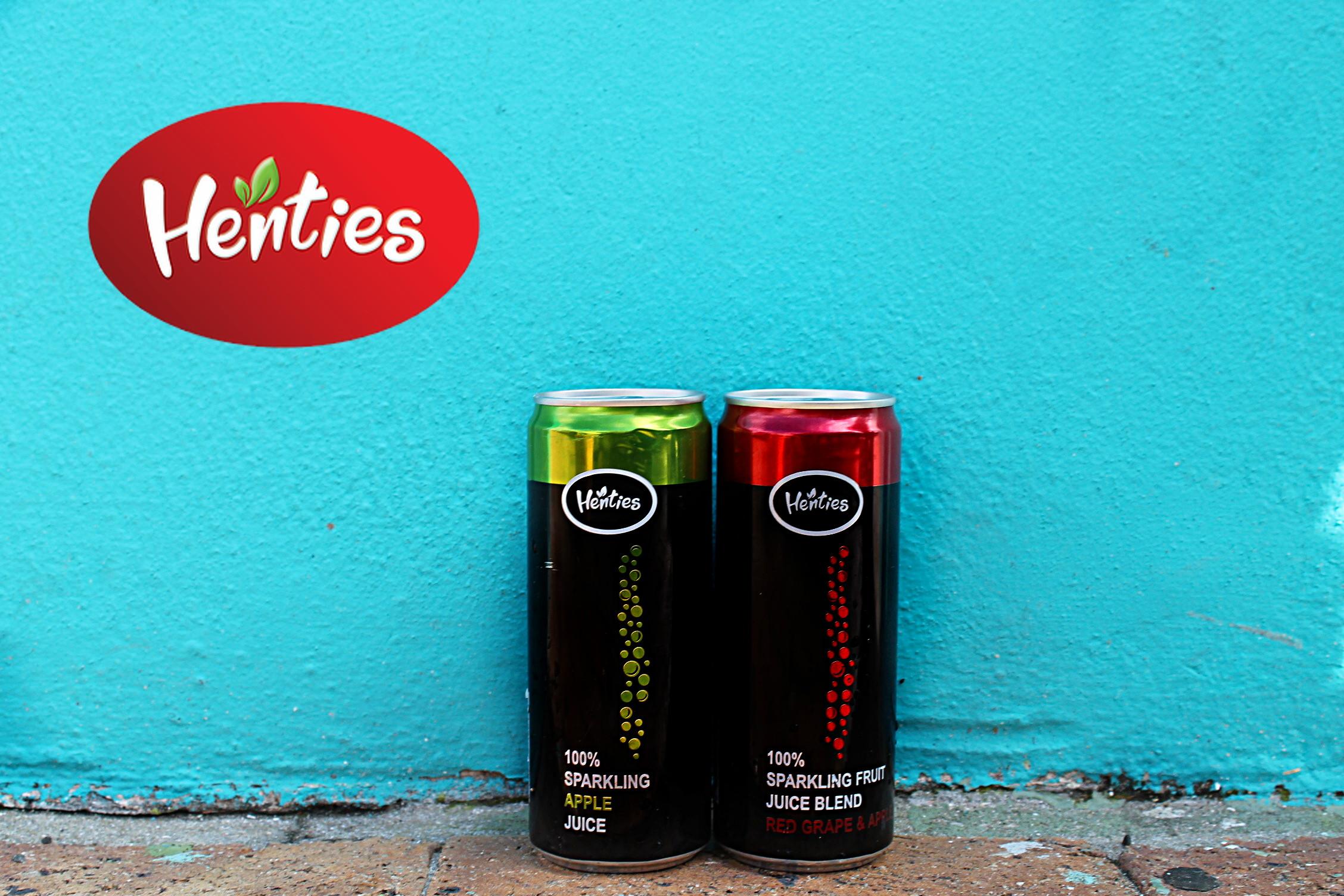 Henties Sparkling Juice