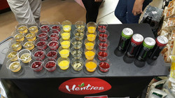 Sparkling Juices Activation