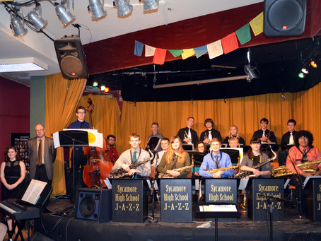 SYCAMORE JAZZ BAND PERFORMS AT THE HOUSE