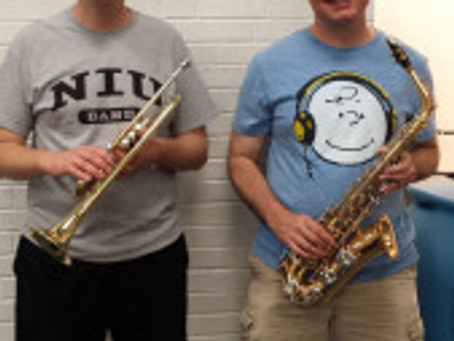 SYCAMORE HIGH SCHOOL RECEIVES INSTRUMENT DONATION