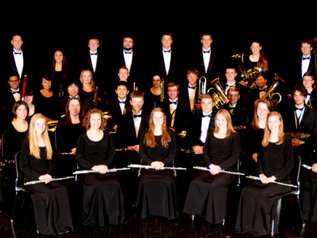 SYCAMORE & DEKALB HIGH SCHOOL BANDS GIVE JOINT CONCERT