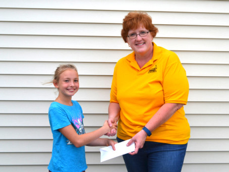 SYCAMORE MUSIC BOOSTERS RECEIVES DONATION