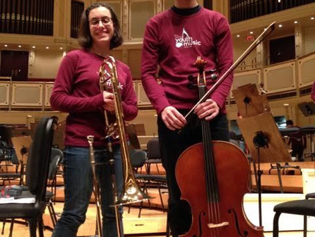 SYCAMORE HIGH SCHOOL STUDENTS PERFORMED AT PRESTIGIOUS CHICAGO YOUTH IN MUSIC FESTIVAL