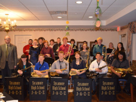 Sycamore Jazz Ensemble Performs at Grand Victorian