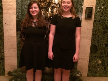 TWO SYCAMORE HIGH SCHOOL CHOIR STUDENTS PARTICPATE AT AMERICAN CHOIR DIRECTORS ASSOCIATION REGIONAL