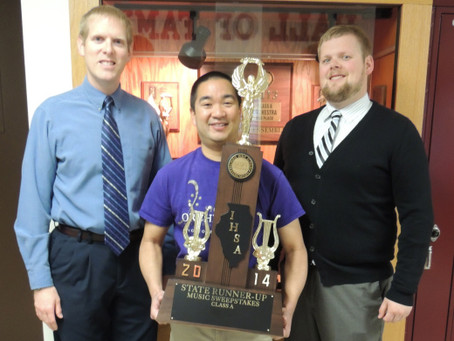 Sycamore High School Music Department Receives Runner-Up 2nd Place in State!