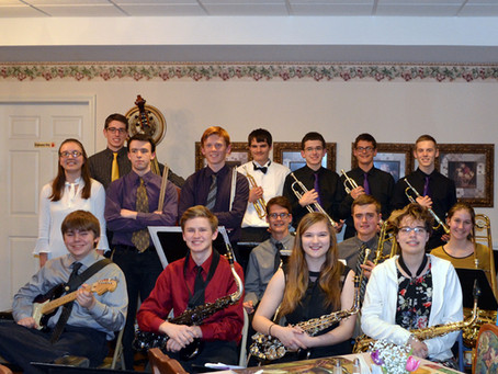 SHS Jazz Ensemble Performs at the Grand Victorian