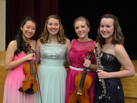 Sycamore High School 2016 Concerto Competition Winners