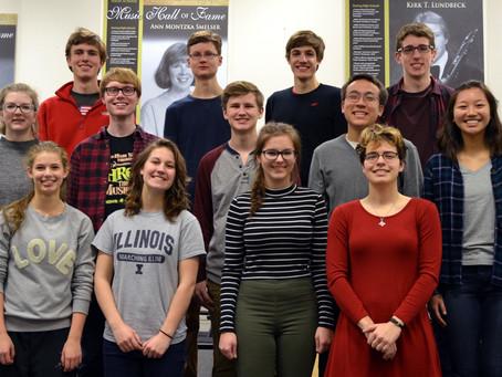 SYCAMORE MUSIC STUDENTS ATTEND PRESTIGIOUS ALL-STATE ILMEA CONFERENCE