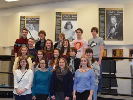 SYCAMORE MUSIC STUDENTS ATTEND IN PRESTIGIOUS ALL-STATE ILMEA CONFERENCE