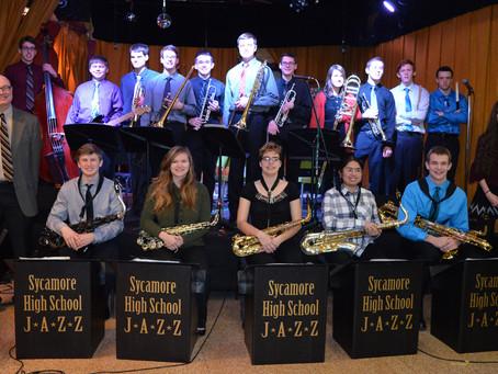 SHS Jazz Ensemble Performs at The House
