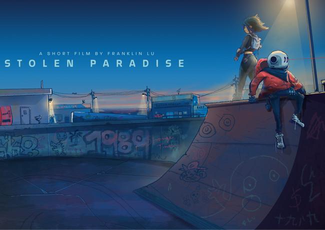 stolen paradise key visual