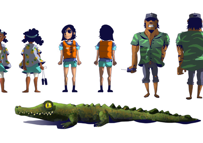 Visual Development personal project-The Caiman