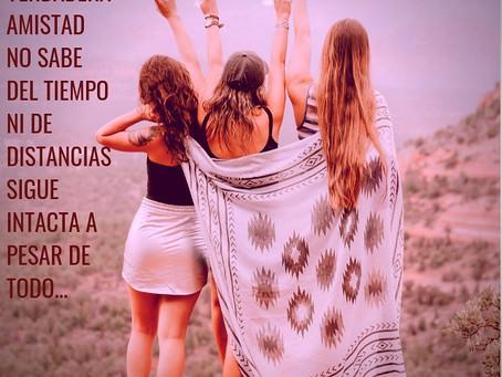 Amistades que el tiempo no altera