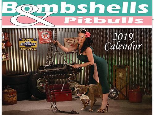 2019 Bombshell & Pitbull Calendar