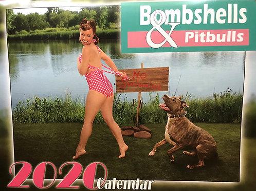 2020 Bombshells & Pitbulls Calendar