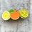 Thumbnail: Lemon Orange Lime Brooch