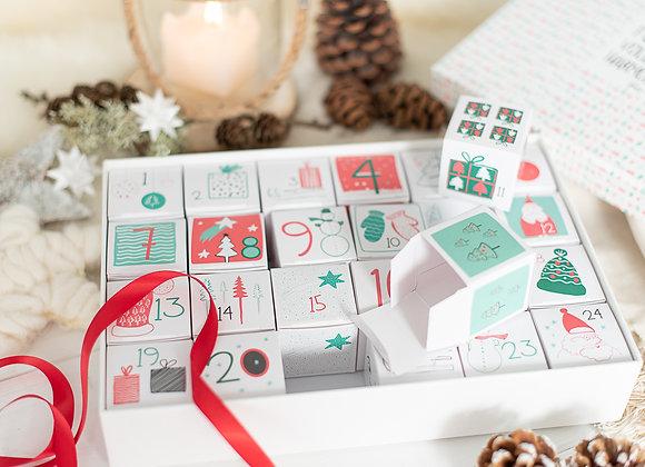 adventskalender zum befüllen, adventskalender personalisiert, adventskalender special, besonder, für mama, papa