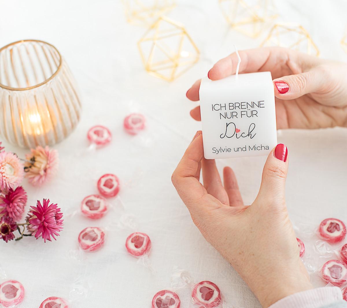 valentinsgeschenk personalisiert kerze.j