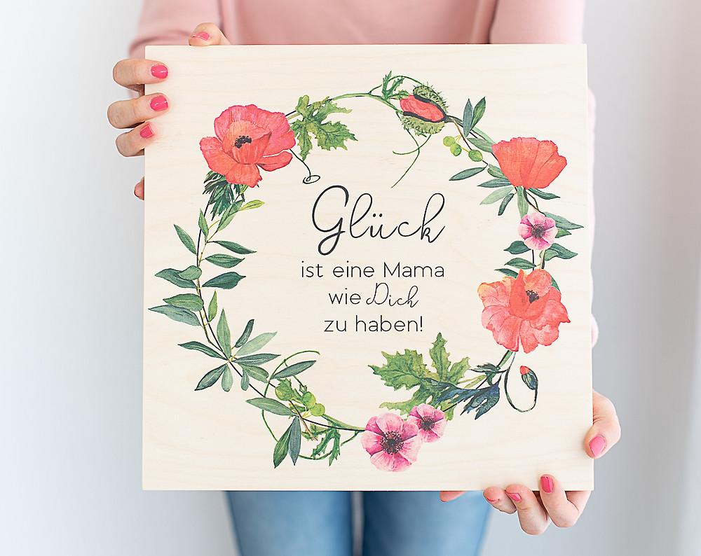 Muttertagsgeschenk - Gluck ist eine Mama wie dich zu haben , Geschenk für mama