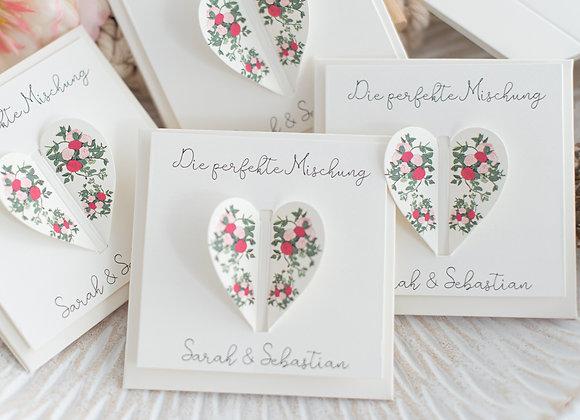 gastgeschenke zur Hochzeit, gastgeschenke blumensamen, gastgeschenke personalisiert, geschenke für Hochzeitsgäste