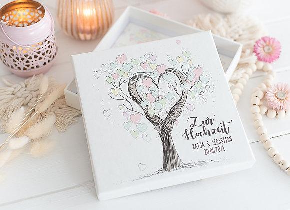 geldgeschenk hochzeit, geldschenke hochzeit, geld verpacken, personalisiert, tree of Love