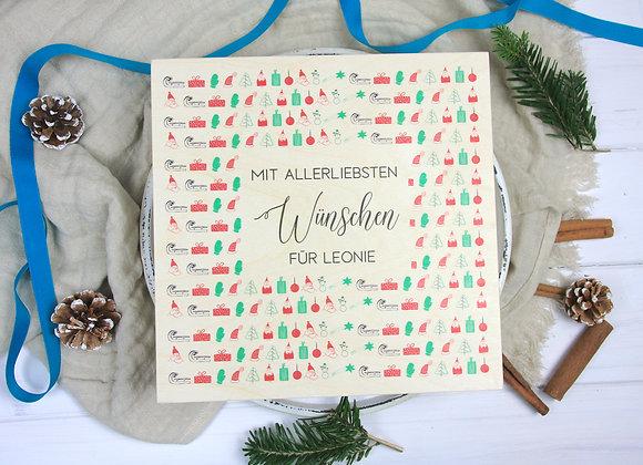Geschenkverpackung Personalisiert - Holzbox